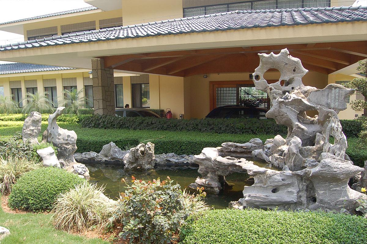 麒麟山庄景观设计