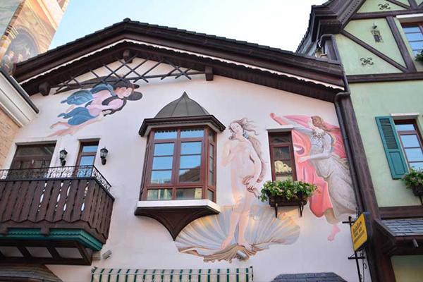 小镇墙绘5