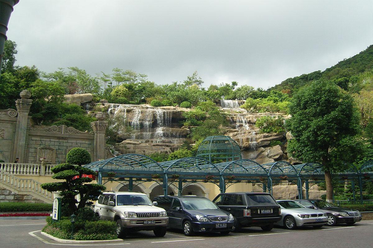 深圳市因特拉根酒店景观