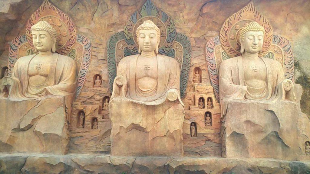石窟的创造是一种艺术和文化的传承