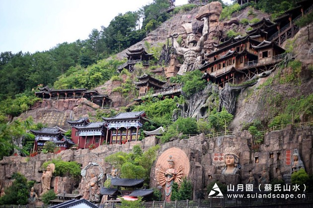 崖石刻是中国古代的一种石刻艺术